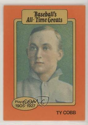 Ty Cobb 1987 Hygrade Orange Baseballs All Time Greats Baseball Card
