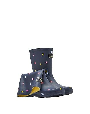 Joules SS19 Junior Boys Roll Up Welly in French Navy