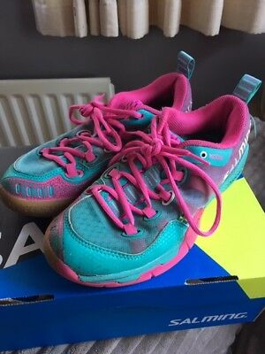 Girls salming squash shoes