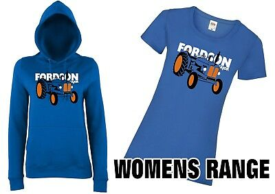 Fordson Major Vintage Tractor WOMENS T-Shirt/Hoodie