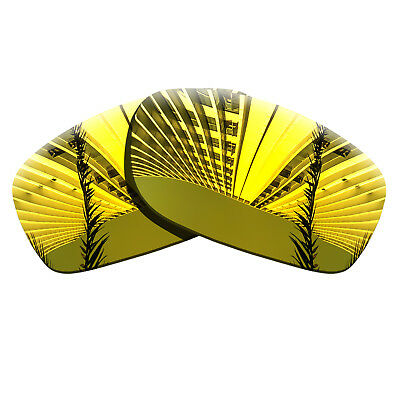 Golden Yellow Polarized Lenses Replacement For-Oakley Fives Squared Anti-scratch