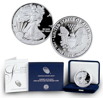 2019-W American Silver Eagle Proof (OGP & Papers)