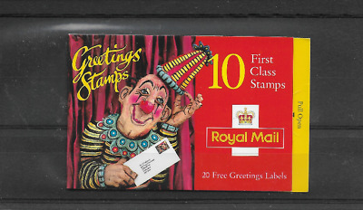 GB 1995 Greetings Stamps Booklet - KX 7