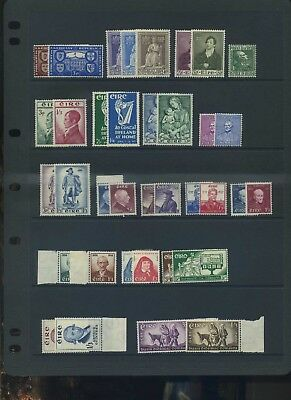 Ireland eire  early QE II fine MLH collection high cat