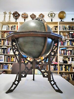 Celestial Globe A. H. Andrews & Co. Chicago. to 1885.