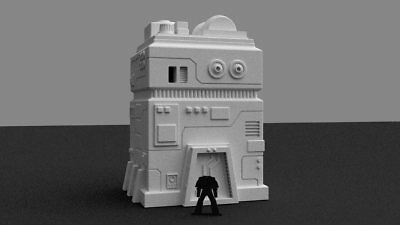 Imperial Government Building Terrain