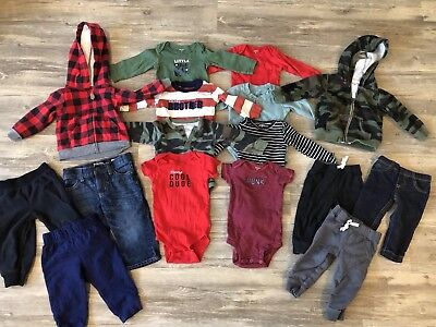 Baby Boy Carters Clothes 9 Months Lot