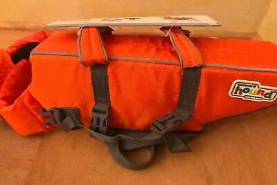 """Outward Hound Ripstop Dog Life Jacket Large for dog 55-85lbs 28-32"""" Girth"""