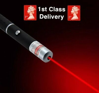 1mW POWERFUL RED LASER POINTER PEN HIGH POWER PROFESSIONAL 650nm