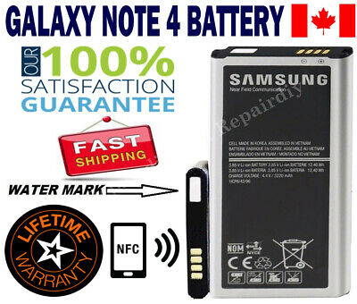 New Original OEM battery for Samsung Galaxy Note 4 3220mAh EB-BN910BBE SM-N910