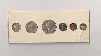 Original Mint Sealed 1956 Canada PL Proof Like Set Canadian Silver C17