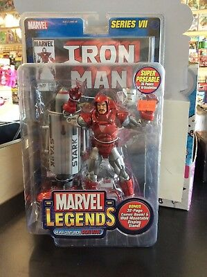Marvel Legends Silver Centurion IRON MAN series VII sealed package