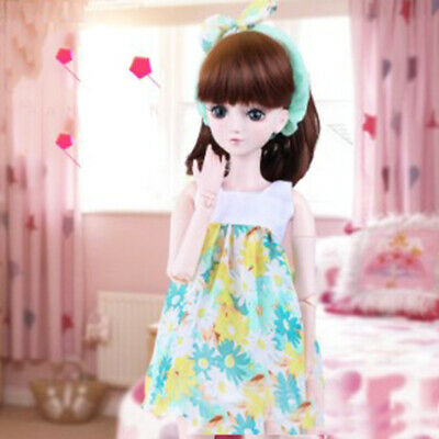 1/3 BJD Dolls Clothes Nightdress Sleepwear for 60cm Night Lolita Doll Accs