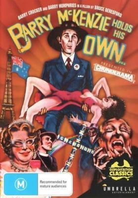 Barry Mckenzie Holds His Own (DVD, 2017) Australian movie Comedy new and sealed.