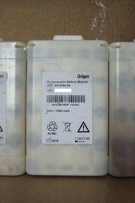 (Lot of 17) Drager Rechargeable Battery Module REF 8415290-09