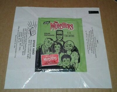 1964 Leaf The Munsters Wax Pack Wrapper