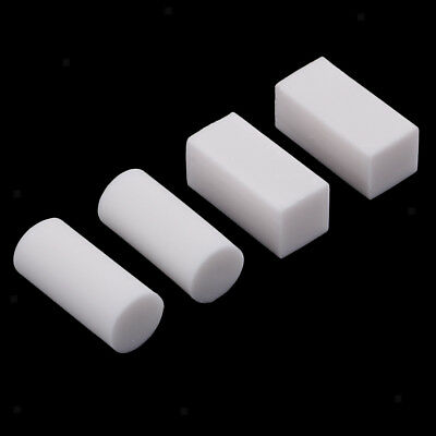 4 Packs Aritist White Rubber Stamp Carving Block for DIY Stamp Scrapbooking