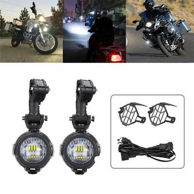 2pcs 40W Motorcycle LED Driving Fog Headlight Spot Lights For BMW R1200GS F800GS