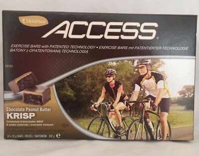 Access Bars – Chocolate Peanut Butter Krisp- Food supplement with CLA