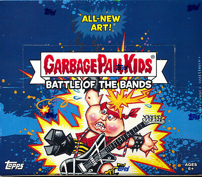 2017 Garbage Pail Kids Battle of the Bands HOBBY BOX Brand New SEALED!!