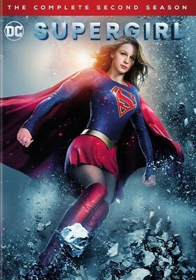 Supergirl: The Complete Second Season (DVD,2017) (ward631910d)