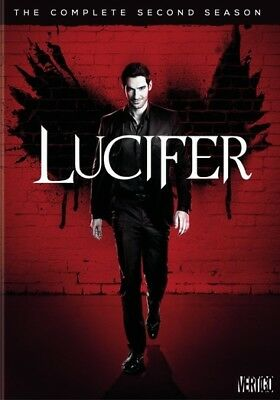 Lucifer: The Complete Second Season (DVD,2017)