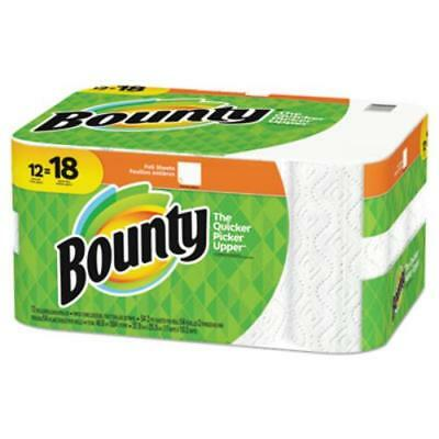 Procter & Gamble 95027 Paper Towels, 2-ply, White, 54 Sheets/roll, 12