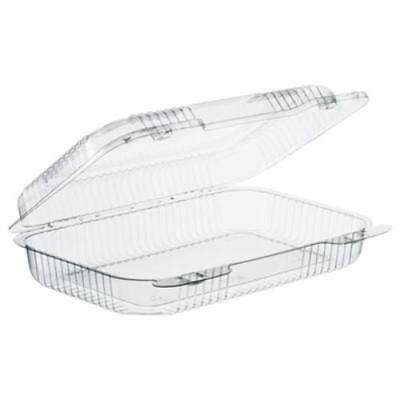 Dart C30UT1 Staylock Clear Hinged Lid Containers, 9.4 X 6.8 X 2.1, Clear,