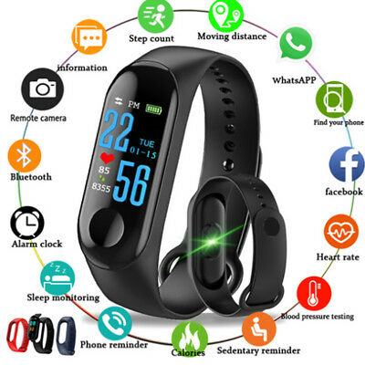 Smart Watch Smart Wrist Band Bracelet Sports Run Pedometer Fitness Tracker