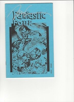 JIM LEE Signed Fantastic Four Aschan Very Rare 0690/2000 HTF!