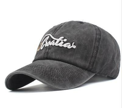 Men's hat 100% Cotton Letter embroidery Simple style Baseball cap