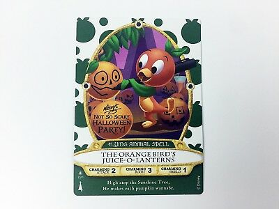 Sorcerers Of The Magic Kingdom Card Mickeys Not So Scary Halloween Party 2018