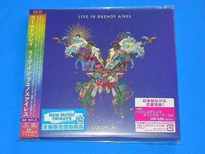 2018 Japan Coldplay Live In Buenos Aires Digi Sleeve Cd