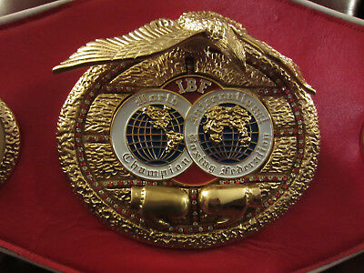 IBF World Champion Belt Replica