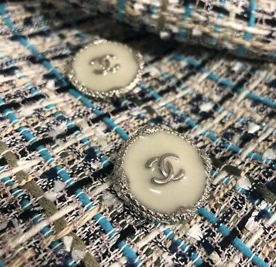Buttons Chanel 5 Pieces Set 20 mm