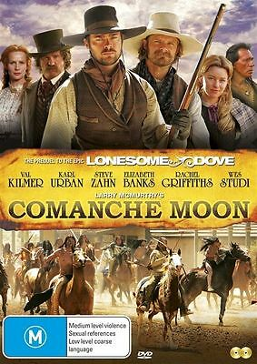 Comanche Moon (DVD, 2011, 2-Disc Set) The Lonesome Dove Prequel New and sealed