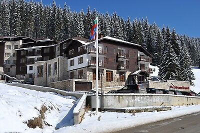 2-BED SKI PROPERTY FOR SALE IN PAMPOROVO, BULGARIA. 50% OFF PRICE! 2min TO LIFT