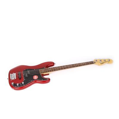 Squier Vintage Modified Precision PJ Bass Guitar - Candy Apple Red SKU#1078632