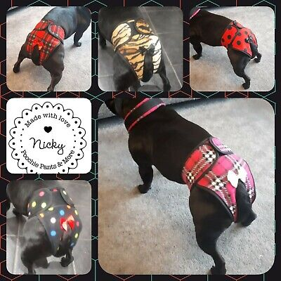 """Handmade dog season pants / knickers  MADE TO ORDER upto 26"""" by poochie pants"""