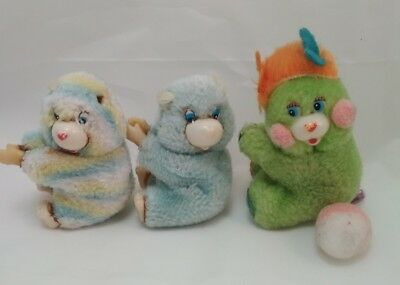 Lot pinces doigts Bisounours Popples