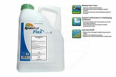 Roundup Very Strong Professional Weedkiller Glyphosate 5L