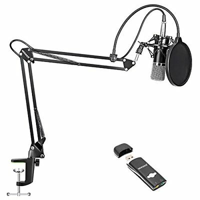Neewer NW-700 condenser microphone kit home / studio / broadcast recording for