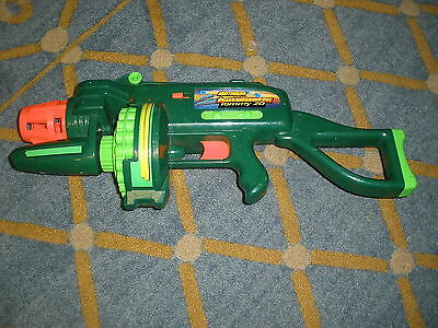 Motorized Automatic Tommy 20 Buzz Bee Toys Air Blaster - Works!
