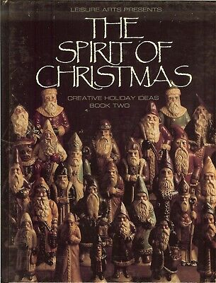 Leisure Arts Spirit of Christmas Holiday Ideas Book 2 - Projects - Recipes, HB