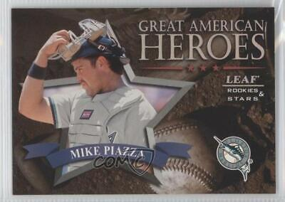 1998 Leaf Rookies & Stars #312 Mike Piazza Miami Marlins Baseball Card Verzamelingen