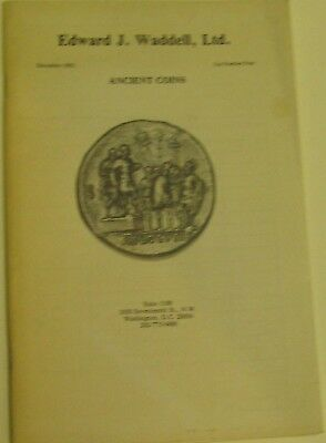 (Pgasteelers1)Edward Waddell  Dec.1982 Ancient Coins List No 4.