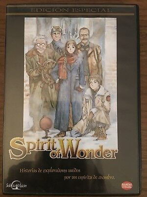 SPIRIT OF WONDER Edicion Especial DVD ANIME español