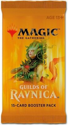 Booster GUILDS of RAVNICA (englisch) Archlight+Trophy+Whisperer+Aurelia+Vraska