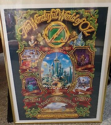 Landmark Entertainment Group The Wonderful World of Oz Poster Concept Excellent