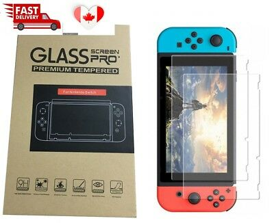 Premium 9H Tempered Glass Screen Protector For Nintendo Switch